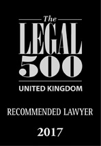 Recommended by Legal 500